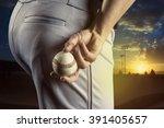 Baseball Pitcher Ready To Pitch ...