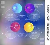 infographic design vector... | Shutterstock .eps vector #391420591