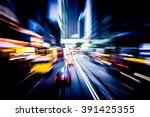 bokeh background  moving... | Shutterstock . vector #391425355