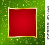 christmas background with...   Shutterstock .eps vector #39142639