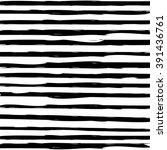 Hand Drawn Striped Background.