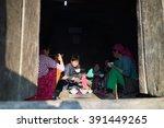 ha giang  vietnam   feb 13 ... | Shutterstock . vector #391449265