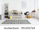 shot of a modern baby room | Shutterstock . vector #391452769