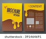 modern flyers brochure magazine ... | Shutterstock .eps vector #391464691
