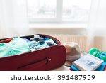 summer vacation  travel ...   Shutterstock . vector #391487959
