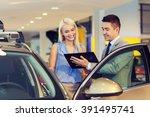auto business  car sale ... | Shutterstock . vector #391495741