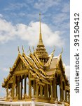 the temple in the grand palace...   Shutterstock . vector #39150412