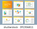 colorful set of vector... | Shutterstock .eps vector #391506811