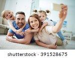 family selfie   Shutterstock . vector #391528675