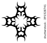 tribal pattern element template ... | Shutterstock .eps vector #391528741