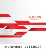 vector abstract business... | Shutterstock .eps vector #391538137