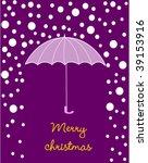 christmas card   Shutterstock .eps vector #39153916