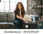 filling inspired for adventure  ... | Shutterstock . vector #391539169
