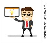 manager character  standing....   Shutterstock .eps vector #391557574