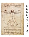 Da Vinci's Vitruvian Man From...