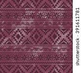 seamless geometric pattern.... | Shutterstock .eps vector #391611781