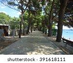 Seafront Promenade From Zlatni...