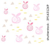 baby pattern seamless abstract... | Shutterstock .eps vector #391631269