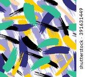 brush stroke seamless pattern.... | Shutterstock .eps vector #391631449