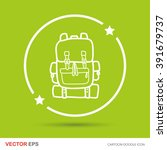 backpack color doodle | Shutterstock .eps vector #391679737