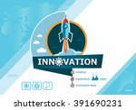 innovation design concepts for... | Shutterstock .eps vector #391690231