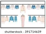 retail visual planograms... | Shutterstock . vector #391714639