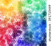 circular tie die spectrum... | Shutterstock .eps vector #391715449