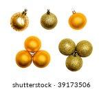 christmas  decoration set | Shutterstock . vector #39173506
