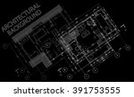 architectural background.... | Shutterstock .eps vector #391753555