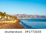 Scenery  Of Eilat Beach  Israe...