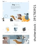 animal website template  banner ...