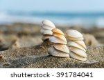 Three Figures Made Of Shells O...