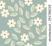 stylish seamless pattern with... | Shutterstock .eps vector #391788235
