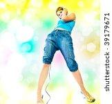 beautiful sexual woman in... | Shutterstock . vector #39179671