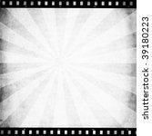 retro paper with sunburst and... | Shutterstock . vector #39180223