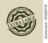 extra large rubber grunge... | Shutterstock .eps vector #391805755