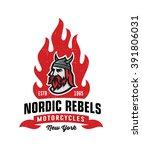 vintage nordic rebels...   Shutterstock .eps vector #391806031