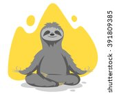 vector illustration of happy... | Shutterstock .eps vector #391809385