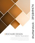 business brochure cover design... | Shutterstock .eps vector #391849474