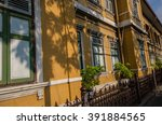 the yellow building | Shutterstock . vector #391884565