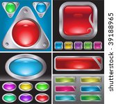 set of button | Shutterstock .eps vector #39188965