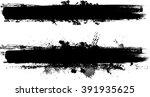 brush stroke. | Shutterstock .eps vector #391935625
