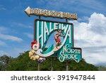 north shore sign | Shutterstock . vector #391947844