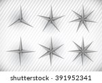 collection of three  four  five ... | Shutterstock .eps vector #391952341