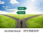 businessman concept  sign... | Shutterstock . vector #391988509