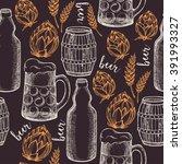 beer seamless pattern...