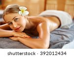 body care. spa woman. beauty... | Shutterstock . vector #392012434
