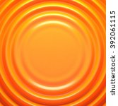 orange rippled background with... | Shutterstock . vector #392061115