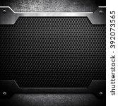 metal mesh background | Shutterstock . vector #392073565