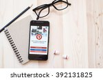 chiangmai  thailand   march 12  ... | Shutterstock . vector #392131825
